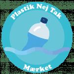 Nej til plastik logo